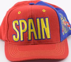14924507fc6 2010 Fifa World Cup adidas Spain Soccer Football Snapback Hat Cap