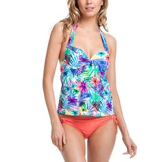 Collections by Catalina Underwire Tankini #swimwear #tankini