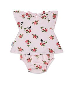 Swing Top with All Over Flower Print $12