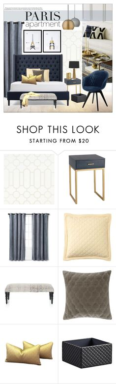 """Dream Paris Apartment"" by szaboesz ❤ liked on Polyvore featuring interior, interiors, interior design, home, home decor, interior decorating, Designers Guild, BoConcept, Nate Berkus and Pottery Barn"