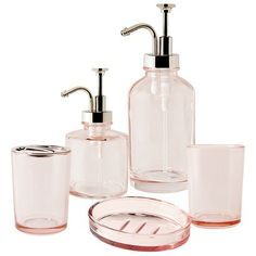 Target Home™ Oil Can Pink Bath Collection