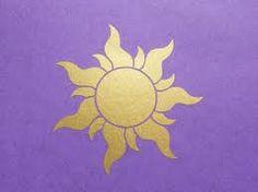 Rapunzel / Tangled Inspired Royal Sun Insignia Wall Decal / Stickers for Girl's Room Disney Tattoo – Top Fashion Tattoos Disney Rapunzel, Rapunzel Sun, Tangled Sun, Rapunzel Room, Tangled Room, Disney Kunst, Arte Disney, Disney Art, Disney Movies