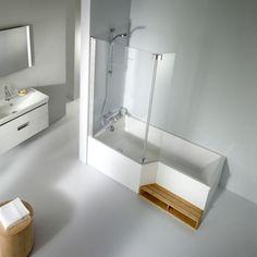 Les baignoires rectangles