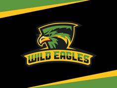 Wild Eagles by Dan Blessing, via Behance