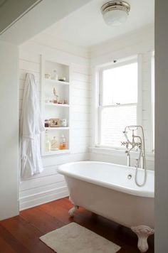 Historic Home Bathroom Renovation. Historic Home Bathroom Renovation Ideas and Tips. Historic Home Bathroom Renovation. Evens Architects Laundry In Bathroom, Bathroom Renos, Bathroom Ideas, Bathroom Storage, Bathroom Designs, Bathroom Wall, Wall Storage, Neutral Bathroom, Bathroom Shelves