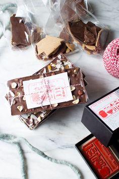Homemade Chocolate Bars for the Holiday Season | Flourishing Foodie