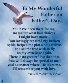 happy fathers day poems for sons