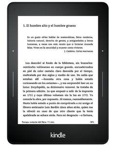 El eReader más avanzado tecnologicamente: Amazon Kindle Voyage