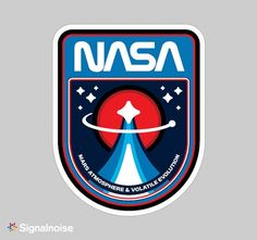 Discover more of the best Icons, Badges, Nasa, Mission, and Patches inspiration on Designspiration James White, Logo Design, Badge Design, Graphic Design, Identity Design, Brand Identity, Web Design, Design Ideas, Nasa Planets