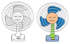 O ventilador assovia - Whistling fan
