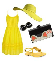 A fashion look from March 2016 featuring sleeveless dress, floral shoes and cat handbags. Browse and shop related looks. Floral Shoes, Fashion Looks, Summer Dresses, Polyvore, Shopping, Hipster Stuff, Summer Sundresses, Floral Toms, Sundresses