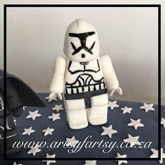 Lego Star Trooper Cake Topper #legostartroopercaketopper Star Troopers, Cupcake Cakes, Cupcakes, Star Wars Cake, Lego Cake, Lego Star, Cake Toppers, Stars, Sterne