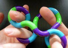'tangle' voor kinderen die graag bewegen tijdens bijv. de instructie