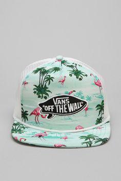 Vans Pink Flamingo Trucker Hat #urbanoutfitters