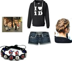 """One Direction Outfit!!(:"" by sarahcampbell20 on Polyvore"