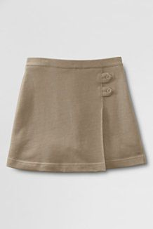 3c1bb5e59 We love the ease of this knit skort   School Uniforms for Girls from Lands'