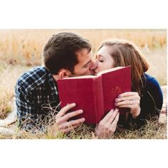Engagement photo idea- with a harry potter book?