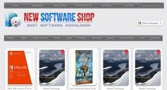 Huge 18,200+ Software, Apps and Software downloads shop http://www.NewSoftwareShop.com . 100% Automated Income.