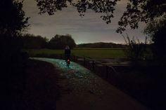 Solar-Powered-Glow-in-the-dark Bike Path-Inspired-by-Van-Gogh-8