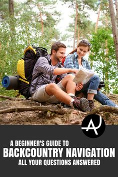 Backcountry Navigation - Hiking Tips For Beginners – Backpacking Tips and Tricks for Women and Men via The Adventure Junkies  | Outdoor Activities. Hiking, Scuba Diving And More