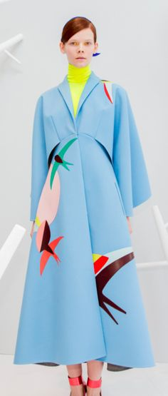 Delpozo Fall 2015 Backstage at Moda Operandi