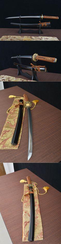 damascus steel blade wakizashi