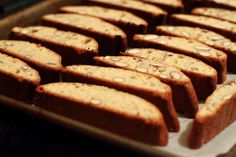 Biscotti - Almonds and amaretto