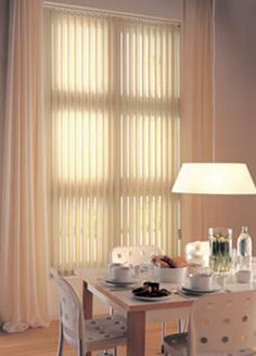 HANG CURTAINS OVER VERTICAL BLINDS | Curtain Design