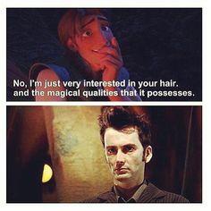 David Tennant's HAIR