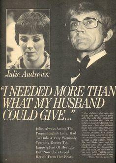 Julie Andrews and Blake Andrews