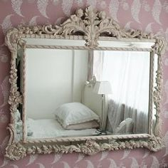 Baroque Carved Angels Mirror Mirrors Mirrors  Screens French Bedroom Company