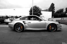 Porshe 911 Turbo. How many people do ya know that got to drive one of these? Ahem...This kid!! And its fast, and identical to the one I drove.