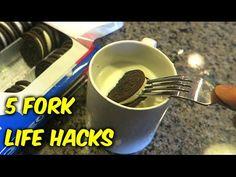 5 Fork Life Hacks - YouTube