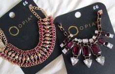 2 Primark necklaces