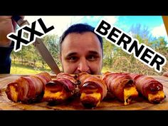 XXL BERNER WÜRSTCHEN selbst gemacht vom GRILL —- Klaus grillt - YouTube Youtube, Crickets, Food And Drinks, Youtubers, Youtube Movies