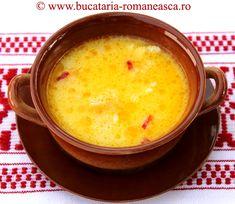 Beef tripe soup . Romanian recipe.