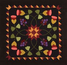 Kim Diehl - Berries and Buds  American Patchwork  Quilting