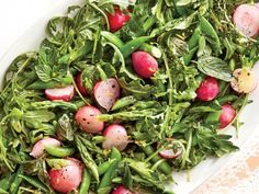 Think seasonally with the peak produce that's available and you'll have a great salad every time. In spring, that includes asparagus, rad...