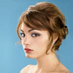 wedding and bridesmaid short hairstyles | Short Hair Wedding Hairstyles for Long Hiar with Veil Half Up 2013 For ...