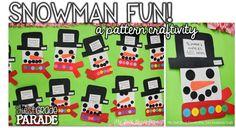Snowman Fun, Freebies, and a Place Value Sneak Peek!