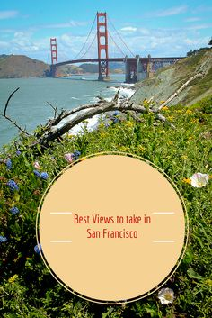Fantastic places to photograph San Francisco attractions, landmarks and landscape http://travelphotodiscovery.com/san-francisco-views-to-die-for/