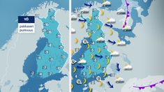 Uudenvuodenaatto on lähipäivistä kylmin, mutta taivas on selkeä – vuoden vaihduttua satelee ja lämpenee | Yle Uutiset | yle.fi