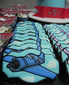 Planes Disney Skipper cookies