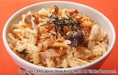 きのことキムチの炊き込みご飯