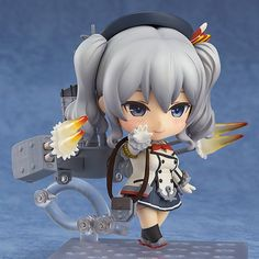 "Pre-Order Release Date: January 2017 ""Training cruiser Kashima, on duty! Ufufu."" From the popular browser game 'Kantai Collection -KanColle-' comes a Nendoroid of the 2nd Katori-class Training Cruiser"