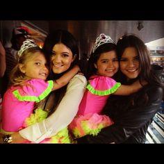 Rosie & Sofia Grace (YouTube sensations<3) with Kardashians
