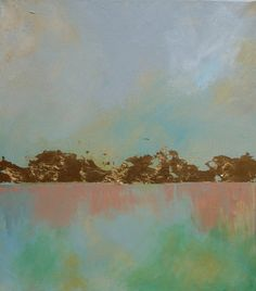 Im selling my art on etsy, buy some! Abstract Landscape by JuliaDickensArt on Etsy, $400.00