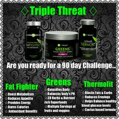 The It Works Triple Threat Weight Loss Challenge is an effective, simple program using three of the It Works Products. Greens, Thermofit & Fat Fighters help detoxify your body on the inside, curb cravings, increase metabolic rate, and help maintain healthy blood glucose levels so you feel terrific, and get the results you want. Sandiloveswraps.myitworks.com