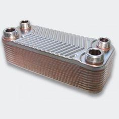50672 - Edelstahl Wärmetauscher 20 Platten Plattenwärmetauscher max. 44 kW (5)