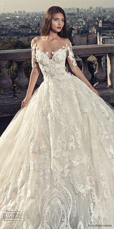 Julia Kontogruni Wedding Dresses #weddingdress; #bridalgown